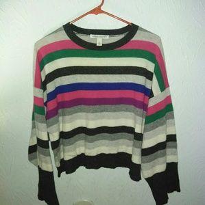 New Autumn Cashmere 100% S Oversized Crop Sweater